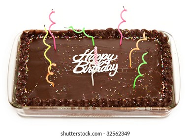 Awe Inspiring Rectangular Birthday Cake Stock Photos Images Photography Funny Birthday Cards Online Inifofree Goldxyz