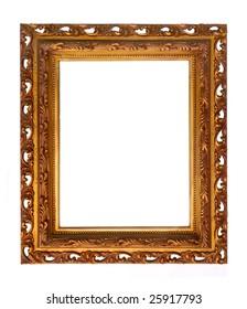 Rectangular Decorative Carved Picture Frame