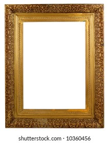 Rectangular Isolated Picture frame