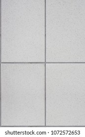 A rectangular seamless pattern on the concrete floor or wall at bathroom