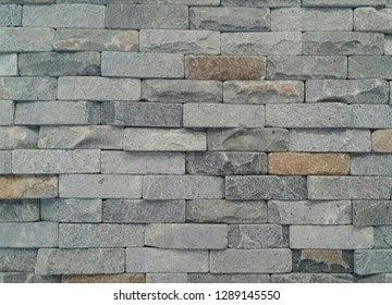 Rectangular textured stone walls for the background