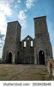 Reculver Roman tower in Herne Bay