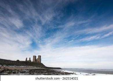 Reculver towers. Thanet. Kent. UK