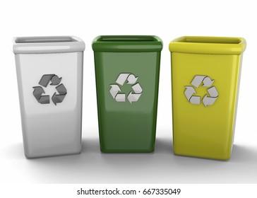 Recycle Bin - 3D