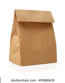 Recycle brown paper bag.