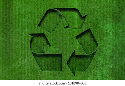 Recycle cardboard texture background