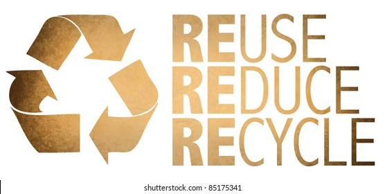 Recycle Logo From Recycle Paper