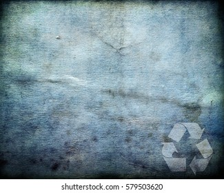 Recycle paper vintage grunge background