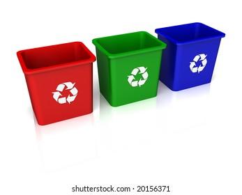 Recycle Trio