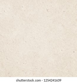 Recycled brown square note paper texture, light background