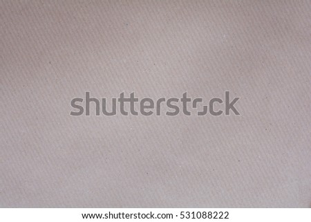 Recycled Craft Paper Background In Light Brown Cream Color Tone Vintage Retro Detailed Texture Of