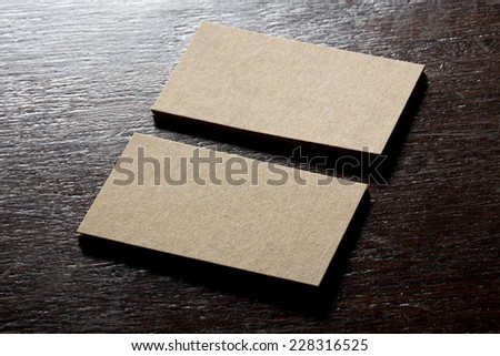 recycled paper business cards mock up - Recycled Paper Business Cards