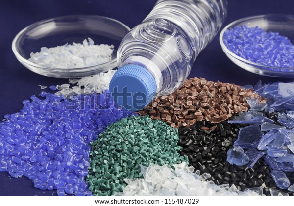 Recycled plastic polymers