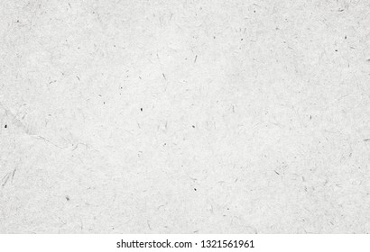 Recycled white, grey vintage horizontal note paper texture, light background.