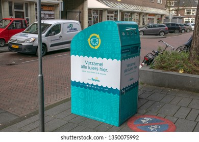 Recycling Diapers By Pampers At Amsterdam The Netherlands 2019