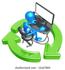 Recycling Online Networking