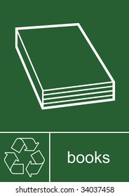 Recycling Sign Books