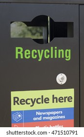 Recycling and Sustainability. Making recycling accessible to all.