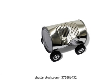 Recycling a Tin Can Into a Car