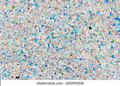 Recycling-Konzept /  Colorful Board Made of Recycling Plastic - Recycling Concept