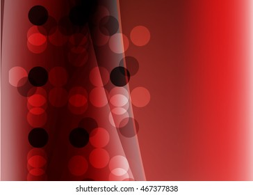 Red abstract background for business card or banner