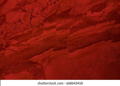 Red abstract background. Christmas background. Marble background.
