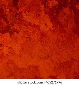 Red abstract background. Vintage stucco texture