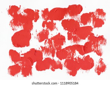 Red Acrylic background