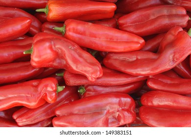 Red Anaheim Peppers