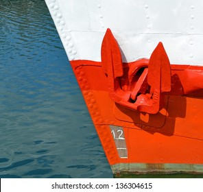 A Red Anchor