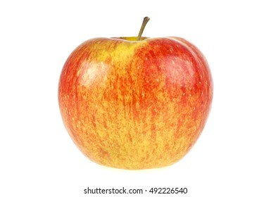 Red apple isolated on a white background