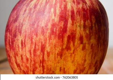 Red apple skin texture