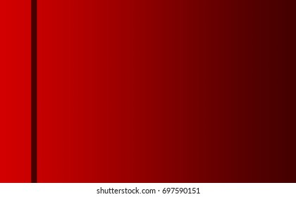 Red Background with Left Divider