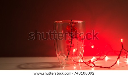 Red Background Red Light Bulb Transparent Stock Photo Edit Now