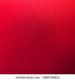 Red background metal for christmas color glitter foil paper abstract light wall.