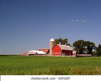 Red Barn brightens the farm