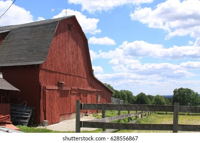Red Barn in New England