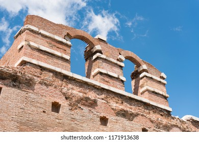 The Red Basilica, also called variously the Red Hall, is a monumental ruined temple in the ancient city of Pergamon, now Bergama, in western Turkey
