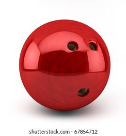 red bawling bal