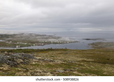 Red Bay, Labrador from the Boney Shore Walking Trail