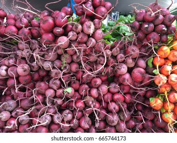 Red beets at the Green Market