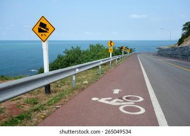 The Red Bike lane