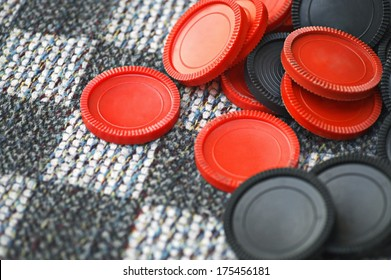 Red And Black Checkers