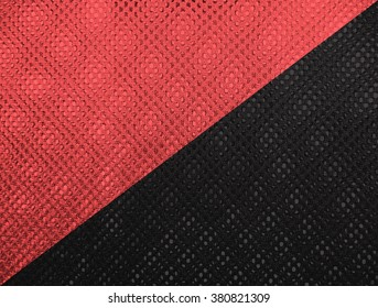 Red and black flag of Anarchist Communism and Anarcho Syndacalism