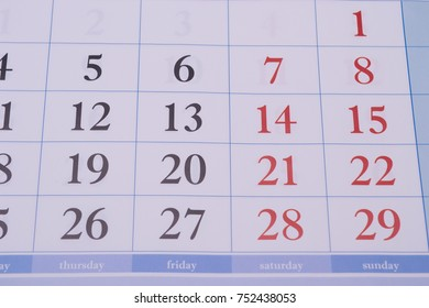 red and black numbers located in one business, the official weekly