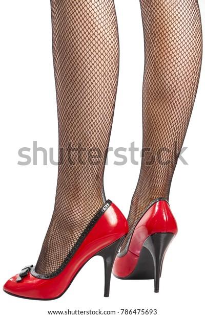 black shiny open toe heels