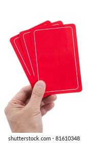 Red Blank Card for message