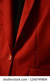 Red Blazer Close Up