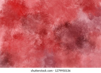 red blood abstract cloud background watercolor dark image texture design brush canvas art grunge ink moon vibrant water vivid