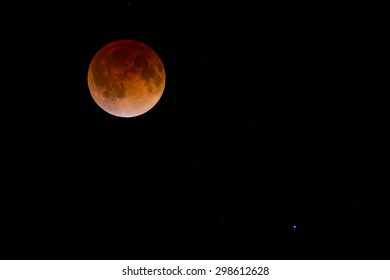 blood moon lunar eclipse virgo - photo #6